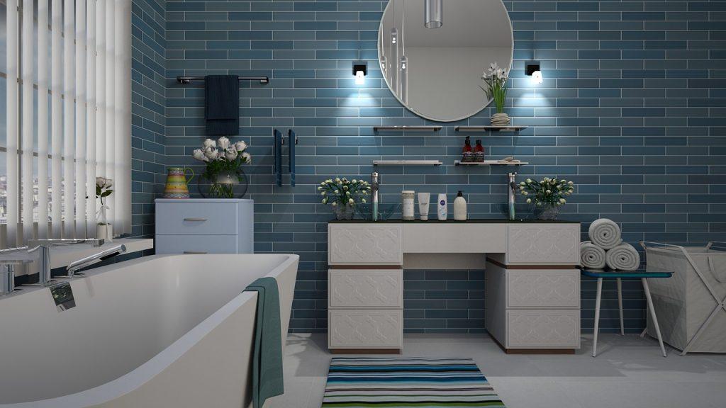 bathroom, blue, tile-3563272.jpg